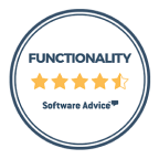 Software advice: Functionality 4.5/5