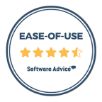 Software advice: Ease of use 4.5/5